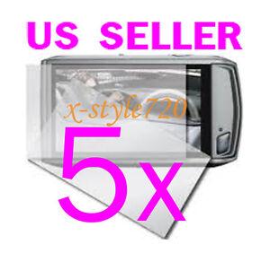 5x-Canon-ELPH-500-HS-IXUS-310-HS-Camera-LCD-Screen-Protector-Guard