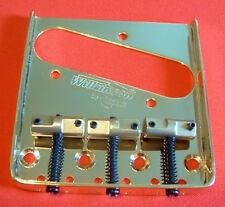 Guitar Parts WILKINSON Bridge - WTB Telecaster - Brass Saddle - GOLD