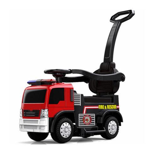 Rutscher in Feuerwehr Design 6V4,5Ah mit Sirene NEW Elektro Kinderfahrzeug