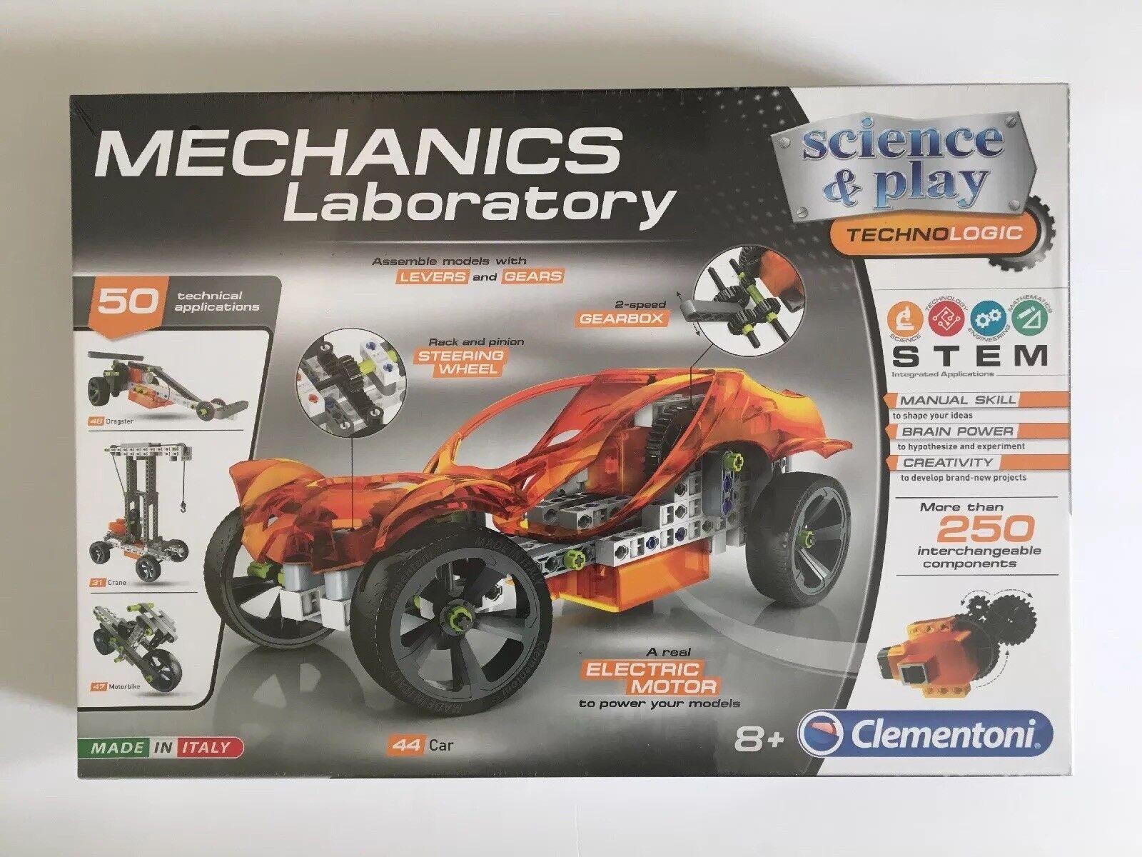 Die wissenschaft auch clementoni mechanik labor labor - wissenschaft & play - spielzeug