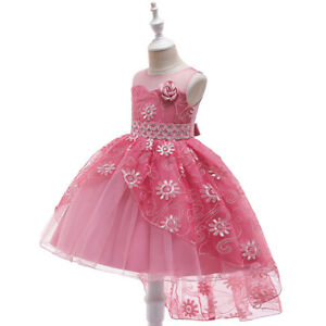 Wedding & Formal Occasion Dresses Buy Cheap Flower Girl Dress Princess Wedding Birthday Holiday Party Bridesmaid Prom Zg9