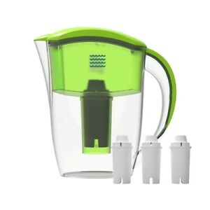 ALKALINE WATER FILTER PITCHER- 8 STAGES PURE WATER INCLUDES PITCHER & 3 FILTERS!