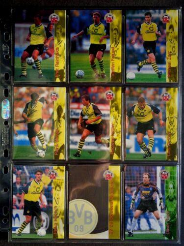 100 premium fútbol-cards//Panini PRIZM Donruss Chrome etc. Topps Select