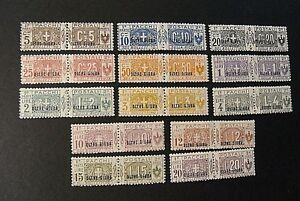 ITALIA-ITALY-1925-COLONIE-OLTRE-GIUBA-034-Pacchi-SVR-034-13v-Cpl-set-MH-MNH