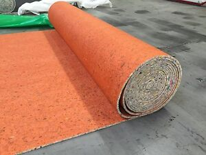 Super 8mm Thick Pu Carpet Underlay Rolls Uk Manufacture Order Any Size In M2 Ebay