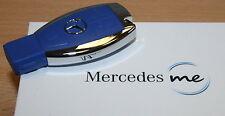 origi Mercedes Benz me USB Stick 2.0 8 GB in Auto Schlüssel optik blau blue NEU
