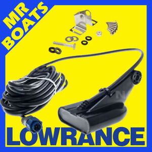 Lowrance 000-10976-001 HDI Skimmer Transducer 455kHz//800kHz for sale online