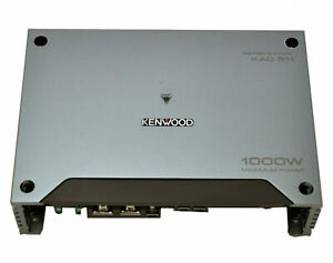KAC 600W Class D Bridgeable Multichannel MOSFET Amplifier with Vari... Kenwood