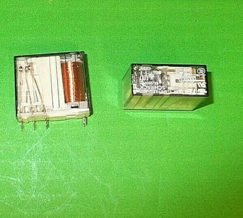 Relay Safety 12V 6A Force Guided SR2M 2 Pole DPDT 2 C//O V23047-A1012A501 P18486