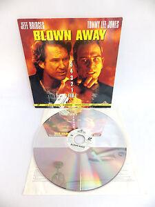 Laserdisc CDV Blow Away Film VF Jeff Bridges - Tommy Lee Jones