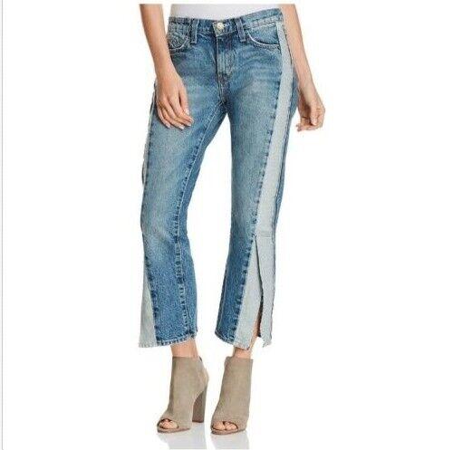 Current Elliott Women Straight Re-Engineered Jeans Size 26 100% cotton NEW 00863