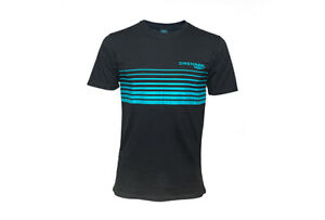 Drennan Black And Aqua T-Shirt
