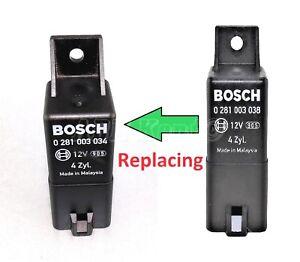 350-Jeep-Dodge-Diesel-9-Pin-Glow-Plugs-Relay-Bosch-0281003034-4-Zyl-56044671AC