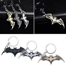 Super Hero Dark Knight Batman Bat Metal Ring Keychain Keyfob Pendant Key Chain
