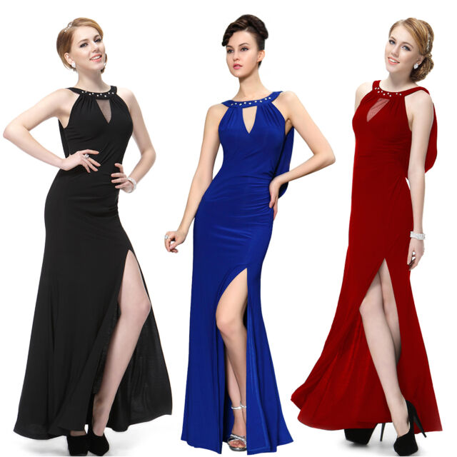 Ever Pretty Long Bridesmaid Evening Prom Gown Formal Dresses 09904 UK Size 6-18