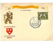 L92 1943 Breda, Netherlands/'50-Jarig bestaan. Postzegelvereniging Breda'