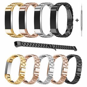 Stainless-Steel-Wrist-Band-Loop-Strap-Bracelet-for-Fitbit-Alta-Alta-HR-Watch