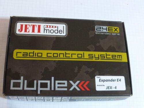 Jeti 2.4 GHz Duplex EX E4 Expander Messerweiterung