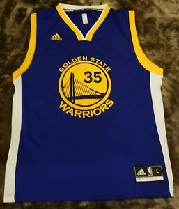 Details about Adidas KEVIN DURANT Warriors Replica Away Jersey Mens NBA Basketball