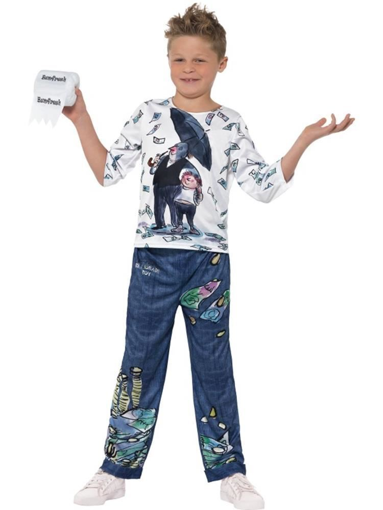 David Walliams Deluxe Billionaire Billionaire Billionaire Boy Costume, Fancy Dress, Tween 12+ DE | Authentische Garantie