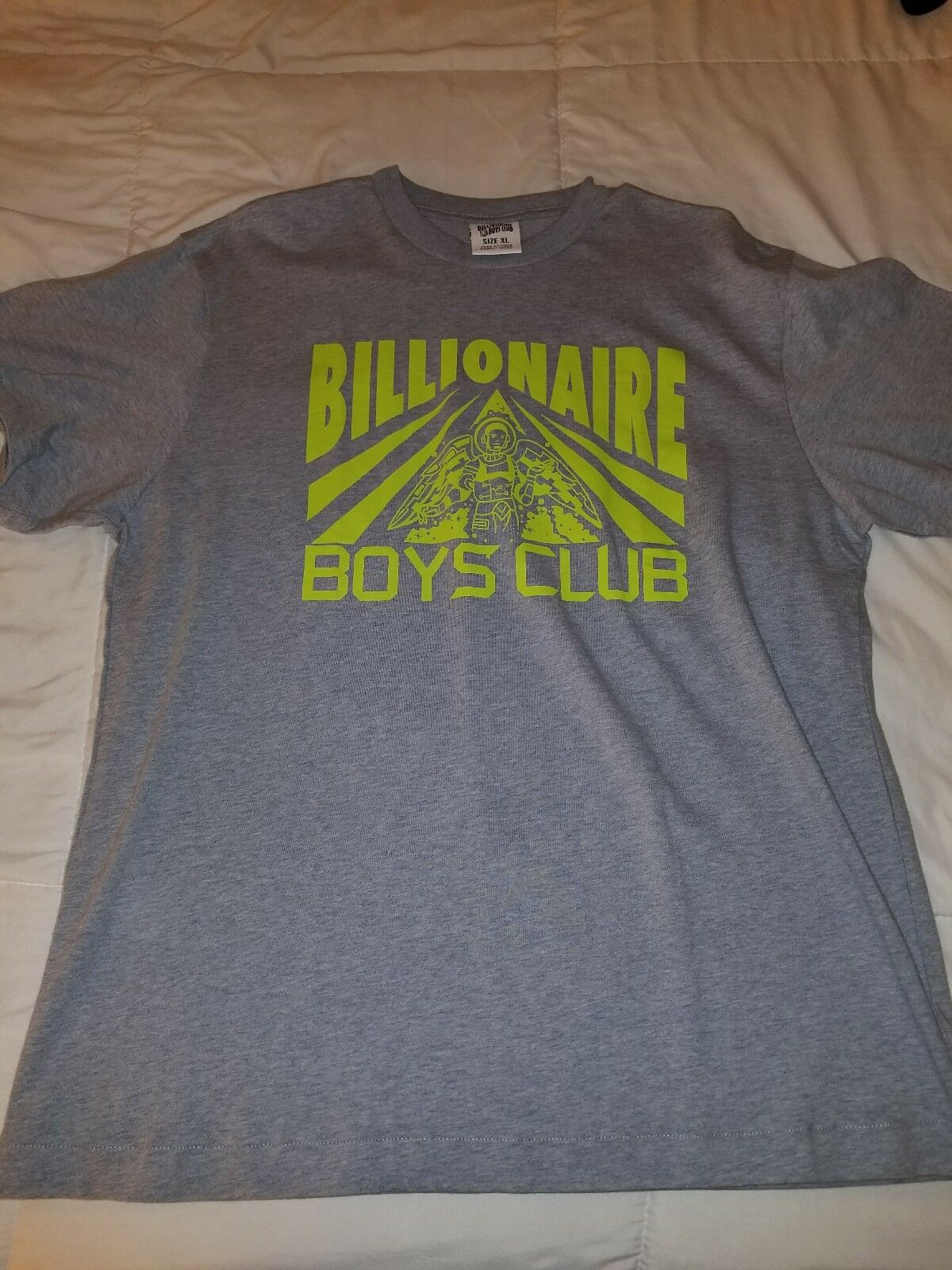 BILLIONAIRE BOYS CLUB T SHIRT SIZE XL