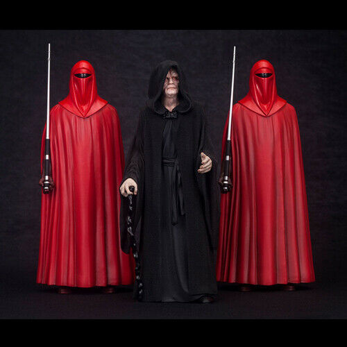 STAR WARS Palpatine with Royal Guard 3-Pack ArtFX 1//10 Pvc Figure Kotobukiya