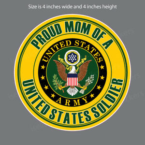 Proud Army Daughter Military Solider Decal