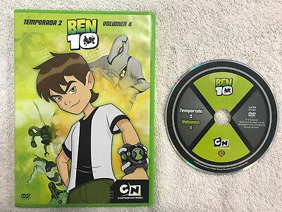 Ben 10 Season 2 Volume 4 Cartoon Network Dvd 3 Episodes 5051893003055 Ebay