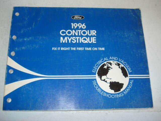 1996 Ford Contour Mercury Mystique Electrical  U0026 Vacuum