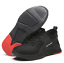 Mens Safety Shoes Mesh Shoes Steel Toe Cap Work Protective trainers Hiking Shoes
