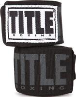 Title Boxing Power-flex Elite 180 Fist Wraps - Black