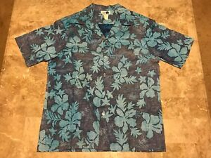 f93bd923 Vintage 70s Hilo Hattie Made in Hawaii Button Front Hawaiian Shirt ...