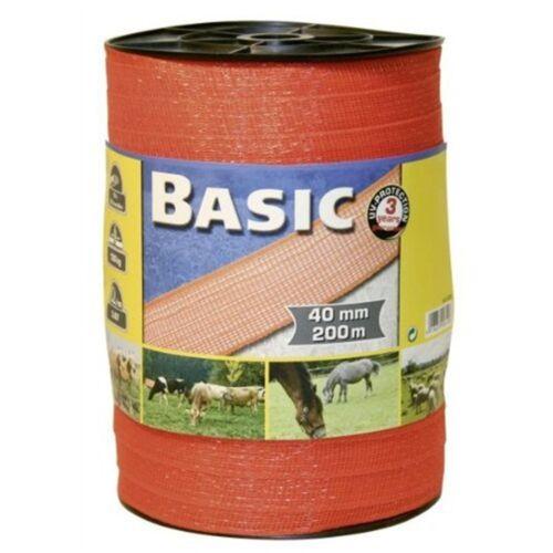 Corral Basic Escrime Bande Orange 200 m x 40 mm