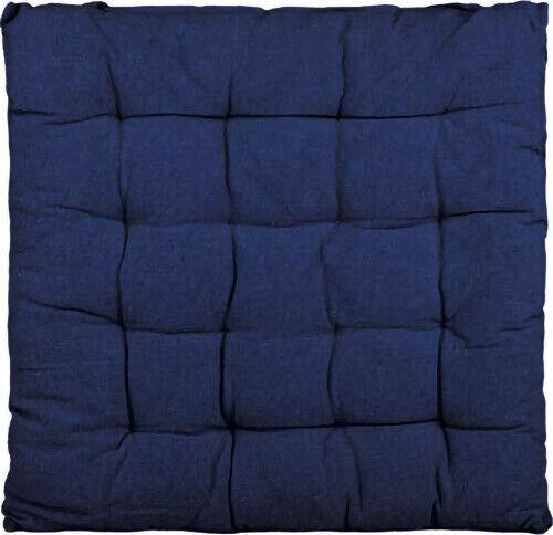 Blue cushion chair basic