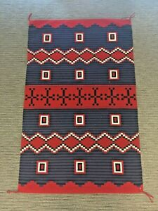 Authentic Navajo Indian Rug Hubbell