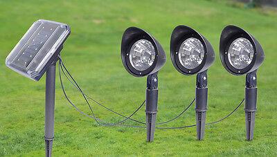 Solar Spot Light 1+3 Style Garden Landscape Flood Lights Lawn Spotlights Outdoor