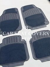 i - TO FIT A RENAULT LAGUNA CAR, DELUXE FLR MATS, 2210 GREY - 4 PIECE SET