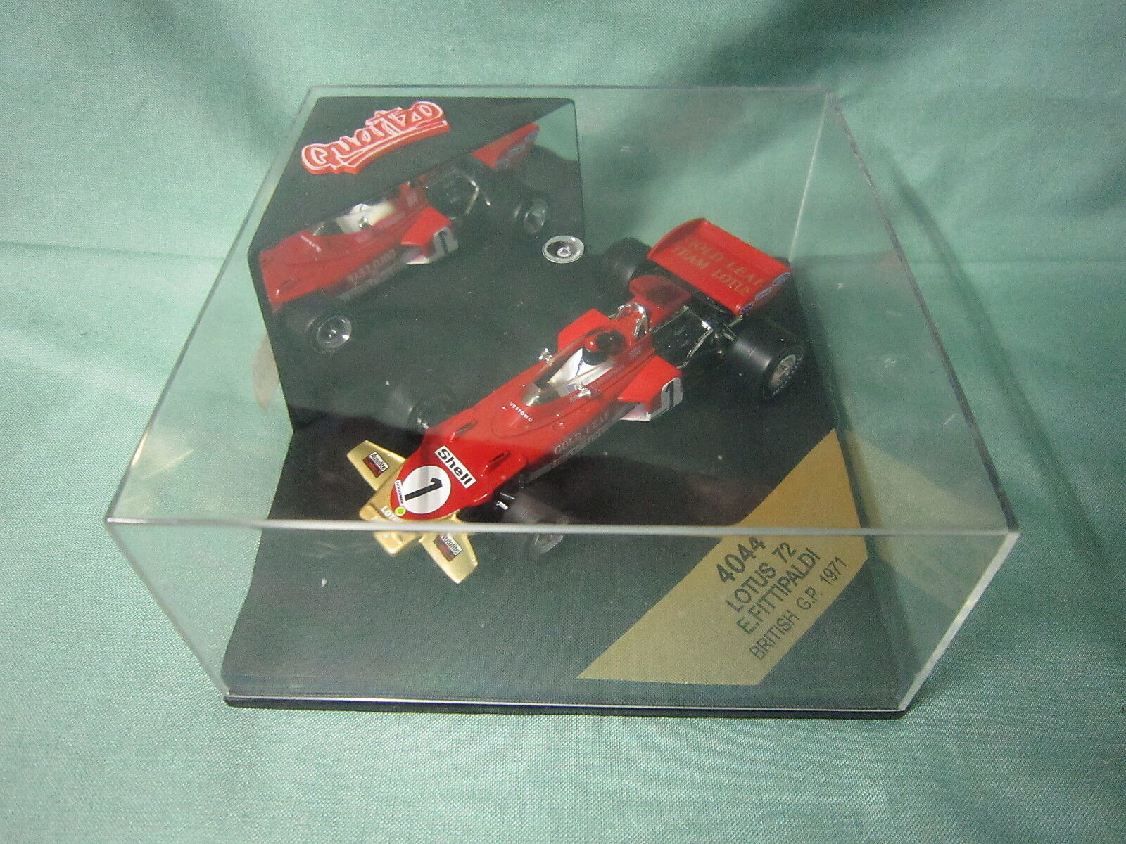 Quartzo dv6048 lotus 72 speed england gp 1971 E Fittipaldi 4044 1 43 f1