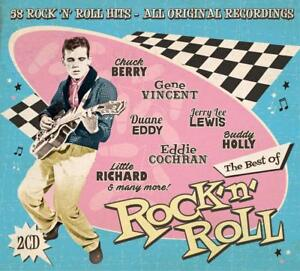 Best-of-Rock-039-n-Roll-The-Drifters-Rosco-Gordon-Chuck-Berry-Buddy-Holly-2-CD-NUOVO