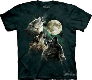 s l300 three wolf moon t shirt by the mountain famous 3 wolves meme sizes