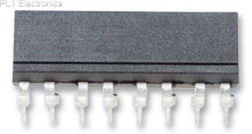 QUAD TR O // P ISOCOM-isp521-4xsm smdip-16 fotoaccoppiatore
