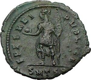CONSTANTIUS-II-w-globe-Constantine-the-Great-son-Ancient-Roman-Coin-i22504