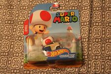 SUPER MARIO BROTHERS TOAD CHARACTER CAR HOT WHEELS DIECAST 2016
