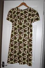 "BNWT Mollie Brown ""Amelia"" Shift Dress Handmade African Wax Fabric Small ASOS"
