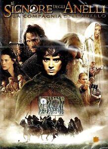 DVD-DOPPIO-nr-2-DVD-IL-SIGNORE-DEGLI-ANELLI-LA-COMPAGNIA-DELL-039-ANELLO-Film-Usato