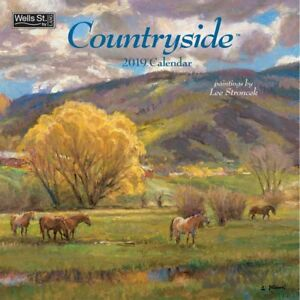 2019 Countryside 2019 Wall Calendar, Lang Folk Art by Wells Street by LANG