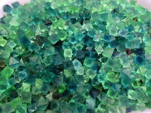 1-2-lb-Beautiful-Blue-amp-Green-Fluorite-Octahedron-Crystals-Bulk-Lot