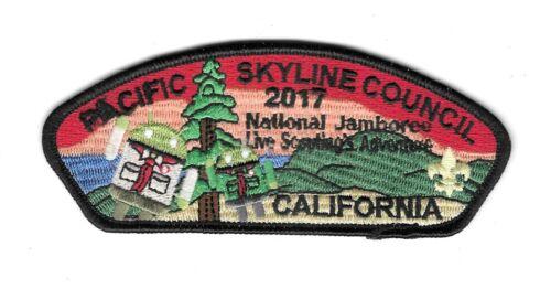 Pacific Skyline Council National jamboree2017 Boy Scout Patch BSA CSP California