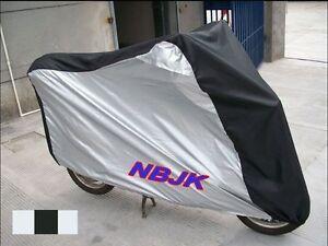 Moto-Motocicleta-Impermeable-Al-Aire-Libre-Lluvia-Cubierta-de-bicicleta-con-ventilacion-XL