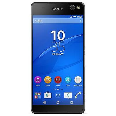 Sony Xperia C5 Ultra 16GB Unlocked GSM Android Dual 13MP Camera Phone - Black